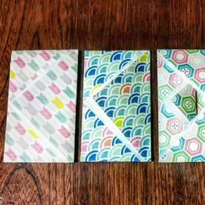 千代紙でポチ袋を作ると華やかでいいですよ