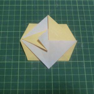 折り方手順・・・逆側も同じように折ります