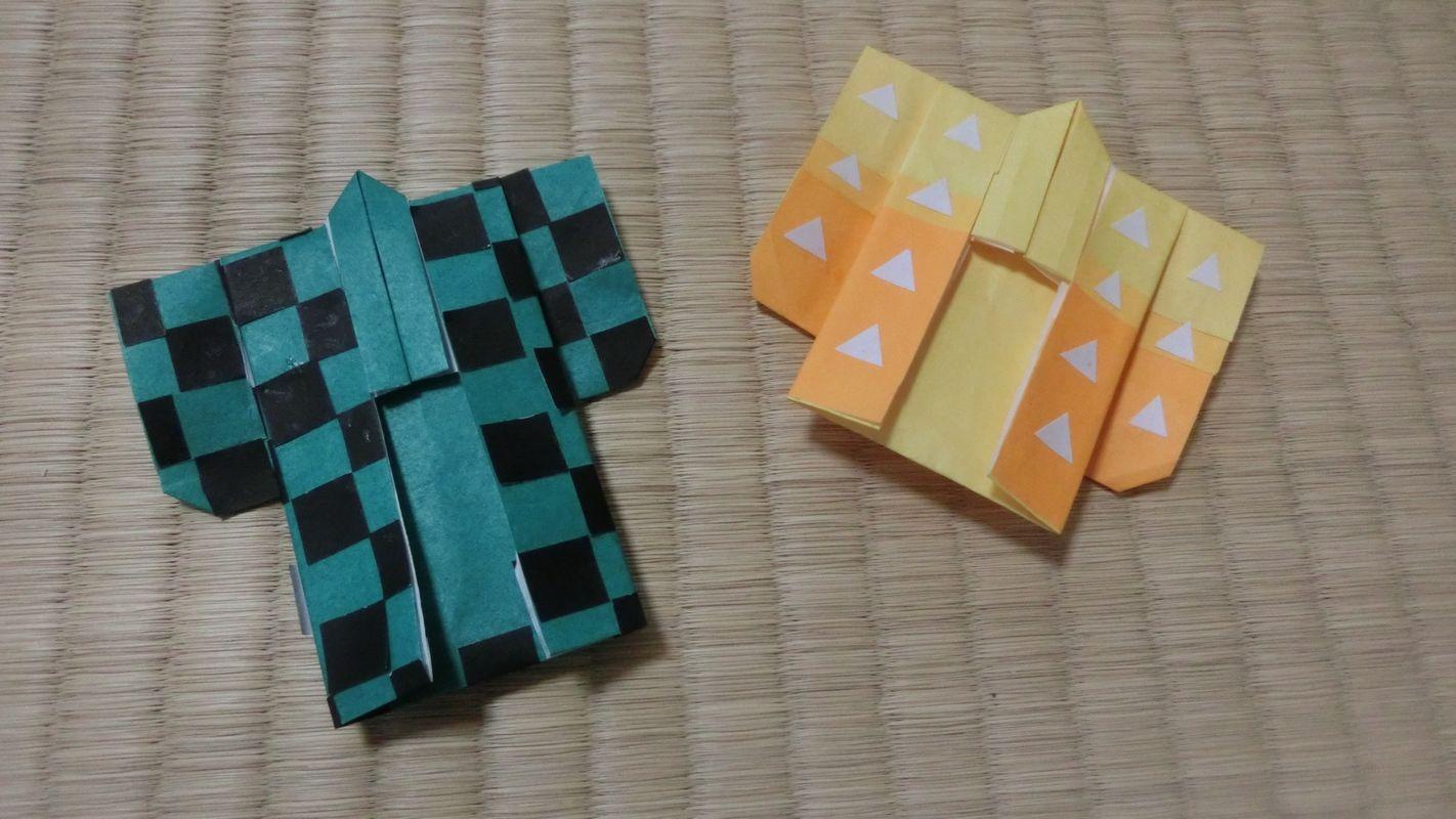 きめつのやいば 折り紙 折り方