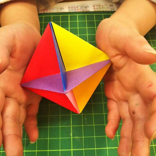 ブーメラン 折り紙 曲線折り紙デザイン 特設ページ